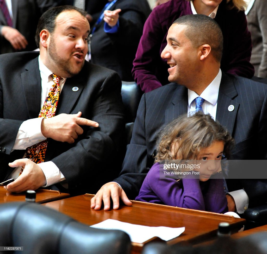 Opening of Md General Assembly-Annapolis, Md : News Photo