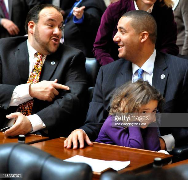It was to loud for Kenna Mitchell,6 as Delegate Luke Clippinger and her father, Delegate Keiffer Mitchell Jr. Talked on the opening day of the...