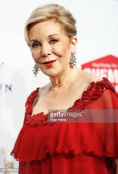 Ita Buttrose arrives at the 59th Annual Logie Awards at Crown Palladium on April 23 2017 in Melbourne Australia