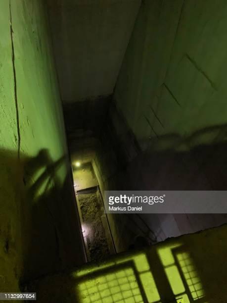 "itaipu dam (itaipu binacional) interior view of stairs in foz do iguacu, parana, brazil - ""markus daniel"" stock pictures, royalty-free photos & images"
