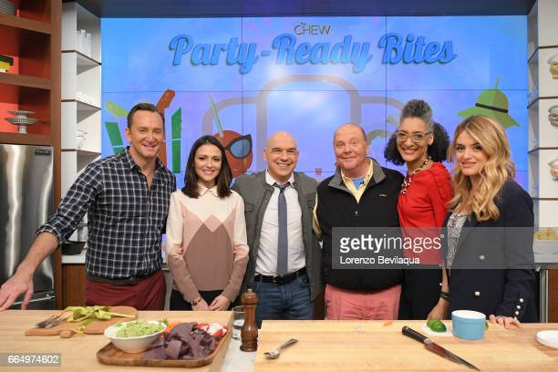 THE CHEW Italia Ricci is the guest Wednesday April 5 2017 on ABC's 'The Chew' 'The Chew' airs MONDAY FRIDAY on the ABC Television Network OZ