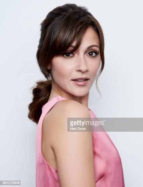 Italia Ricci poses for a portraits at the Tribeca TV festival at Cinepolis Chelsea on September 24, 2017.
