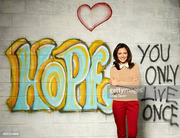 LIFE Italia Ricci stars as April on Walt Disney Television via Getty Images Family's Chasing Life