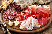 Italiam cured meat variety