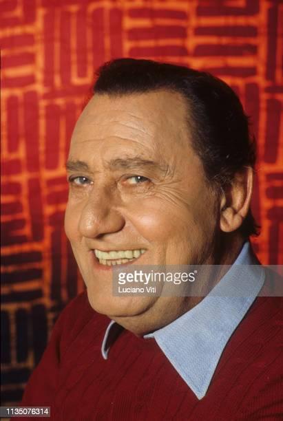 Italian actor Alberto Sordi Rome Italy 1985