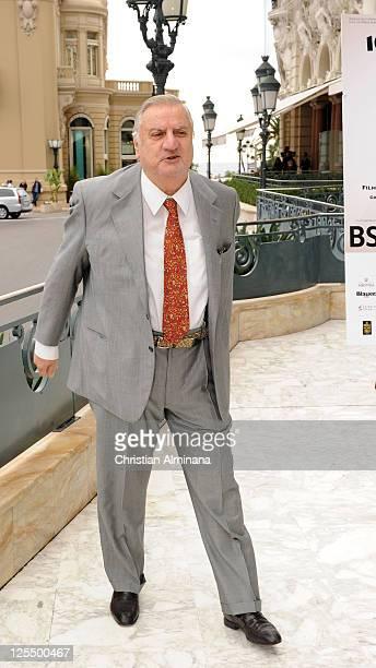 Italian actor Aldo Maccione attends a photocall during the 10th Monte Carlo Film Festival at Hotel de Paris on November 27 2010 in MonteCarlo Monaco