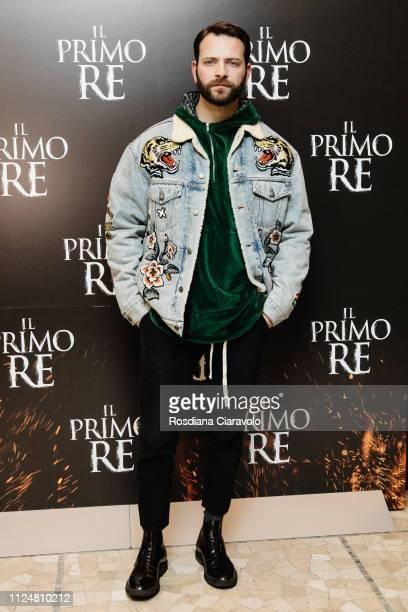 italian actor Alessandro Borghi attends Il Primo Re photocall at Anteo Spazio Cinema on January 25 2019 in Milan Italy