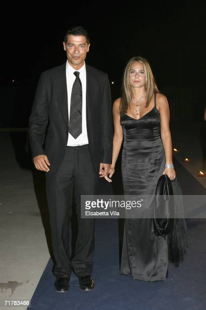 Italian actor Alessandro Gassman and wife actress Sabrina Knaflitz arrive at the Lancia party during the sixth day of the 63rd Venice Film Festival...