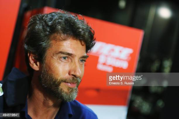 Italian actor Alessio Boni attends the 'Diobo' Che Bello' charity event at DStore Dainese on May 29 2014 in Rome Italy