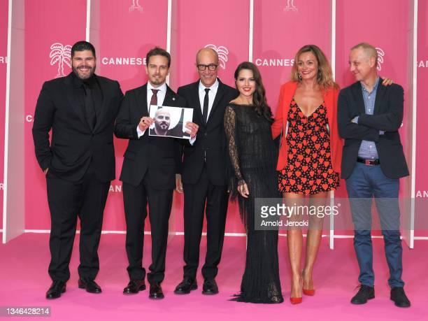 Italian actor and Canneseries jury member Salvatore Esposito, Italian actor Arturo Muselli, Italian screenwriter Leonardo Fasoli, Italian actress...