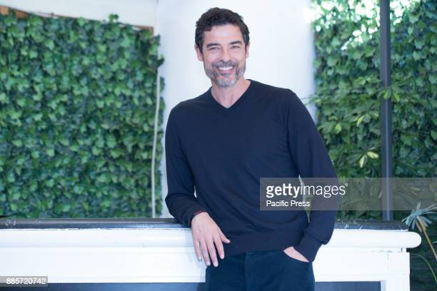Italian actor and director Alessandro Gassmann during the Photocall of the Italian movie 'Il Premio' at the Hotel Bernini Bristol in Rome