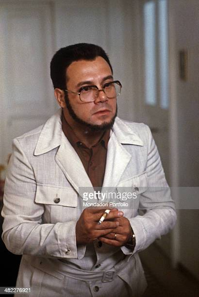 Italian actor and director Carlo Verdone playing the character Furio Zòccano in the film Bianco rosso e Verdone 1981