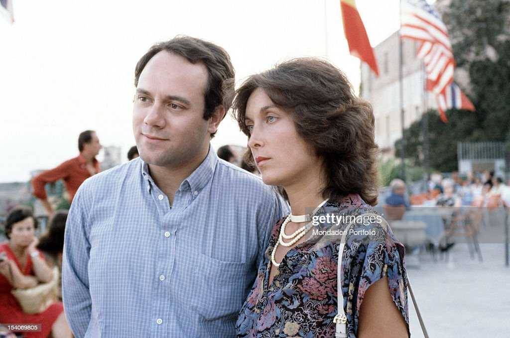 Carlo Verdone with Gianna Scarpelli : ニュース写真