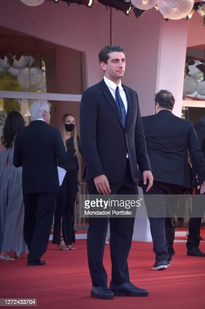 Italian actor and director Pietro Castellitto at the 77 Venice International Film Festival 2020 Closing ceremony red carpet Venice September 12th 2020