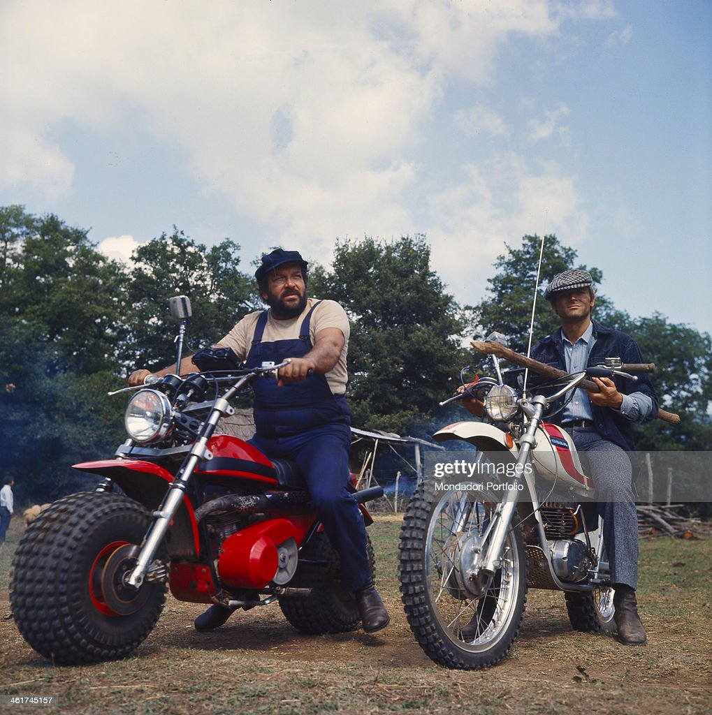 Bud Spencer and Terence Hill in Watch Out, We're Mad! : News Photo
