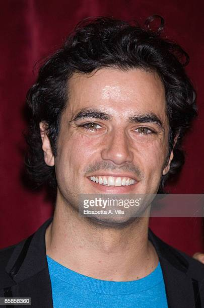 Italian actor Antonio Cupo attends a photocall for the musical 'Cinderella' at Sistina Theatre on April 7 2009 in Rome Italy