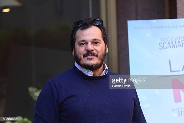 Italian actor Antonio Gerardi during photocall of 'La Cena di Natale' a film by Marco Ponti