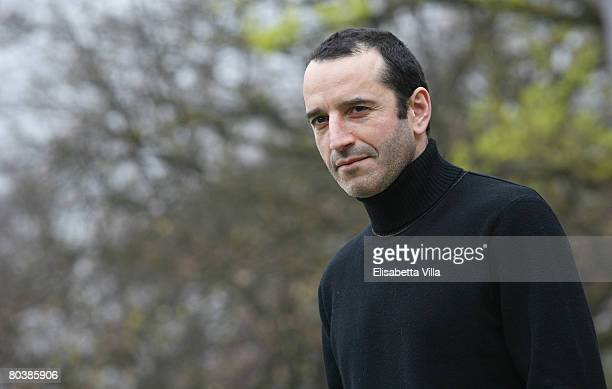 Italian actor Bruno Todeschini attends the 'Nessuna Qualita Agli Eroi' photocall at Villa Borghese on March 26 2008 in Rome Italy