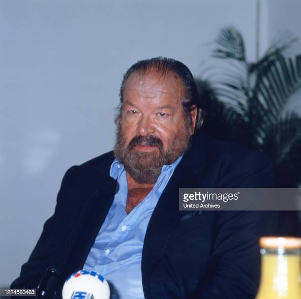 Italian actor Bud Spencer Germany circa 1985