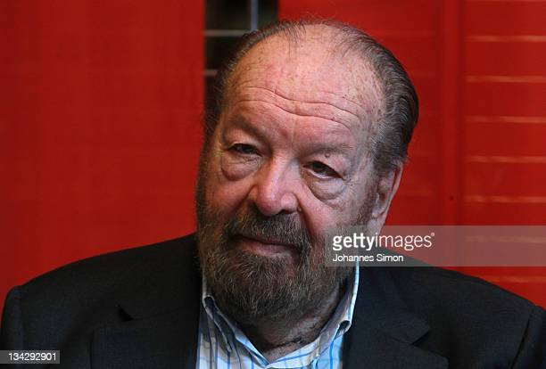 Worlds Best Bud Spencer Book Launch Stock Pictures Photos