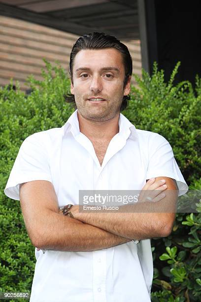Italian actor Ciro Esposito attends 'La Nuova Squadra II' photocall at the RAI on September 1 2009 in Rome Italy