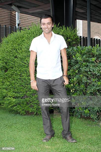 Italian actor Ciro Esposito attends 'La Nuova Squadra II' photocall at the RAI on August 31 2009 in Rome Italy