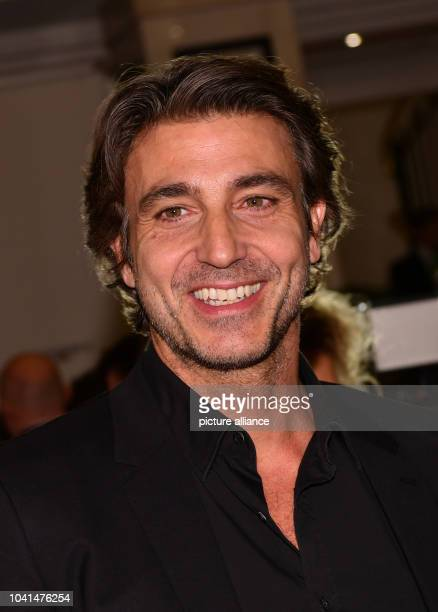 Italian actor Daniele Liotti photographed at the Italian film ball 'Notte delle Stelle' during the 67th International Berlin Film Festival at the...