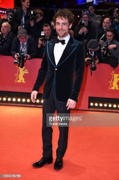 Italian actor Elio Germano arrives for the closing ceremony of the 70th Berlinale International Film Festival Berlin at Berlinale Palace on February...