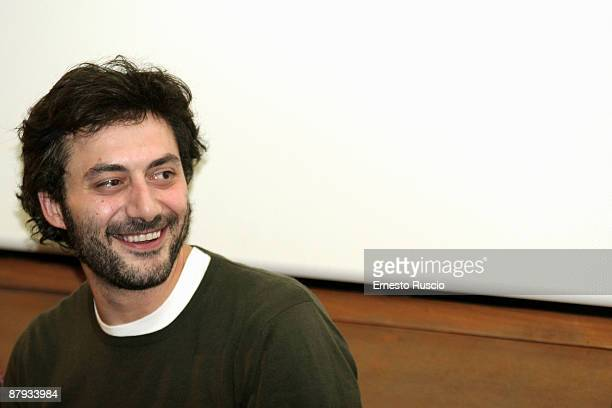 Italian Actor Filippo Timi attends the Vincere screening at the Eden Cinema on May 22 2009 in Rome Italy