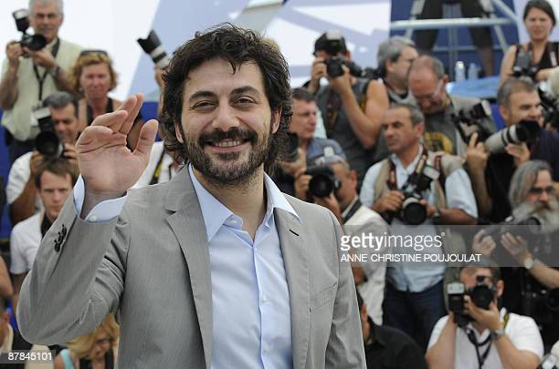 Italian actor Filippo Timi poses during the photocall of the movie Vincere in competition at the 62nd Cannes Film Festival on May 19 2009 AFP PHOTO /...