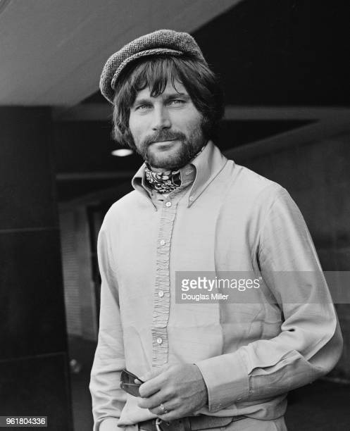 Italian actor Franco Nero arrives at London Airport to star in the new film 'The Virgin and the Gypsy' 14th July 1969 The film begins production in...