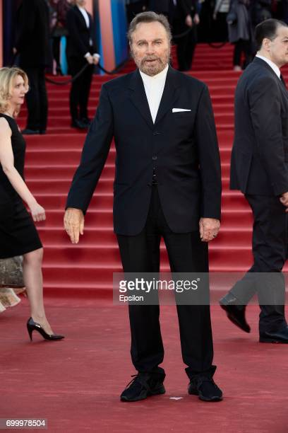 Italian actor Franco Nero attends opening of the 39th Moscow International Film Festival outside the Karo 11 Oktyabr Cinema on June 22 2017 in Moscow...