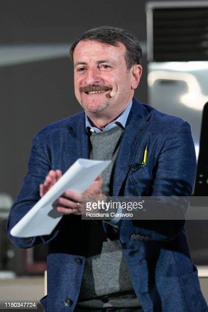 Italian actor Giacomo Poretti attends the Cibo A Regola D'Arte 2019 at Fabbrica del Vapore on May 19 2019 in Milan Italy