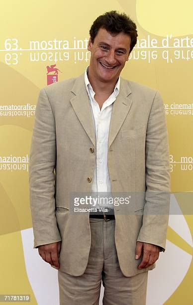 Italian actor Giorgio Tirabassi attends the photocall to promote the film 'Non Prendere Impegni Stasera' during the sixth day of the 63rd Venice Film...