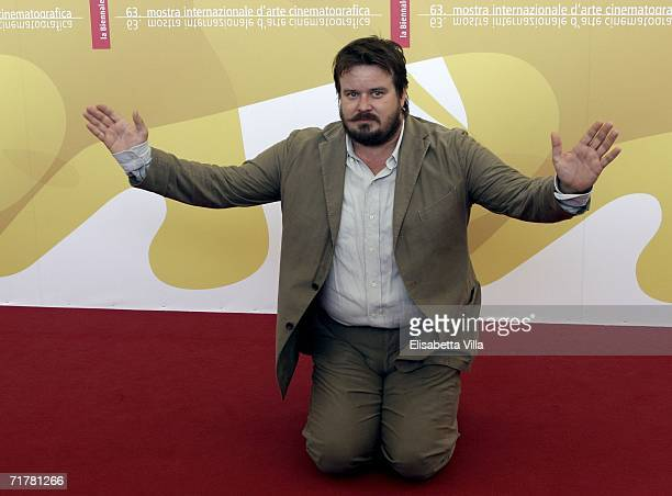 Italian actor Giuseppe Battiston attends the photocall to promote the film 'Non Prendere Impegni Stasera' during the sixth day of the 63rd Venice...