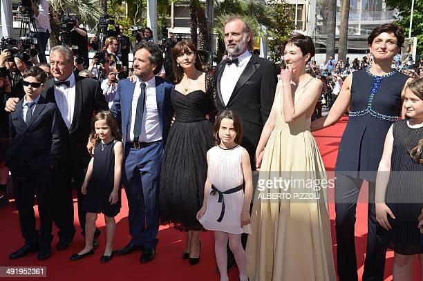 Italian actor Luis Huilca Italian producer Paolo Del Brocco Italian actress Maria Stella Morrow Italian producer Carlo CrestoDina Italian actress...
