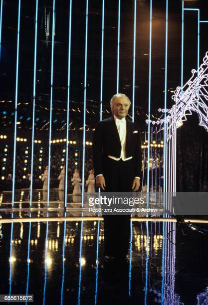 Italian actor Marcello Mastroianni in Ginger and Fred 1985