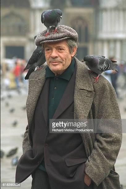 Italian Actor Marcello Mastroianni