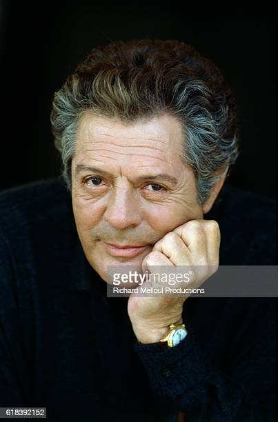Italian Actor Marcello Mastroianni