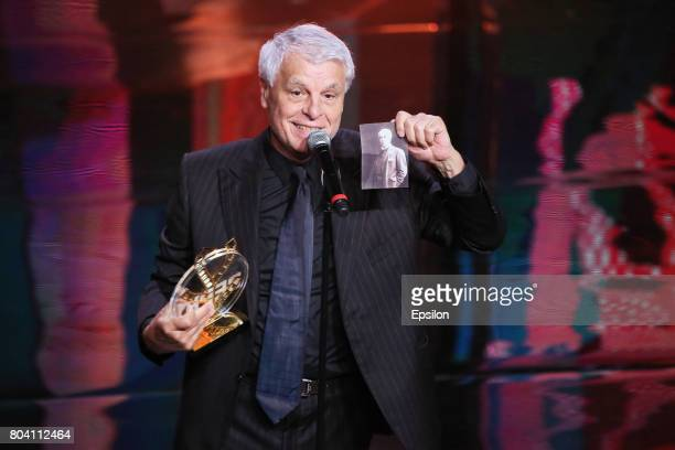 Italian actor Michele Placido receives the Special Prize for the Outstanding Achievement in the Career of Acting and Devotion to the Principles of...