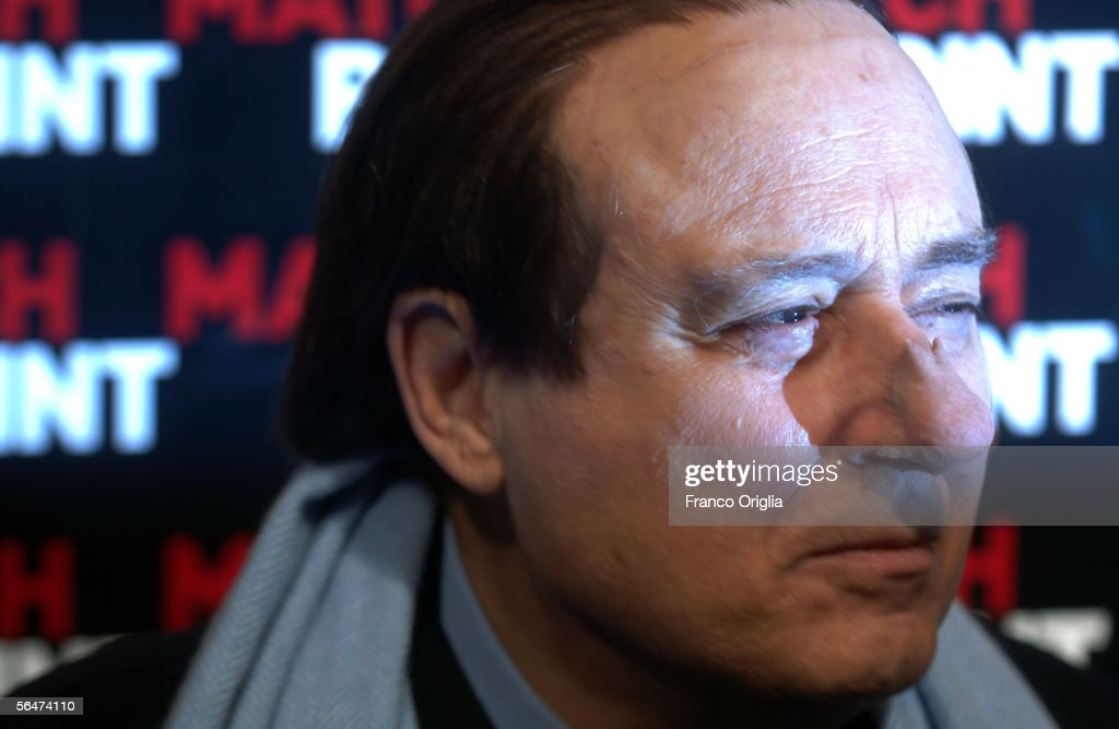 Italian actor Oreste Lionello attends the premiere of Woody Allen's new film 'Match Point' at the Embassy Cinema on December 20, 2005 in Rome, Italy.