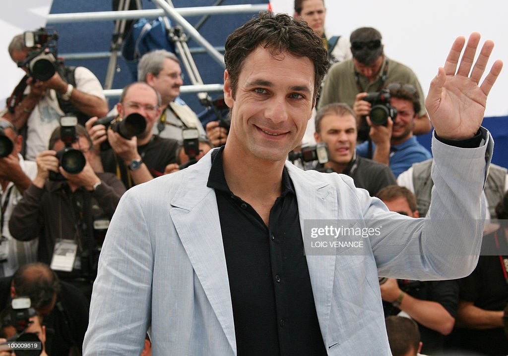 Italian actor Raoul Bova poses during the photocall of 'La Nostra Vita' (Our Life) presented in competition at the 63rd Cannes Film Festival on May 20, 2010 in Cannes.