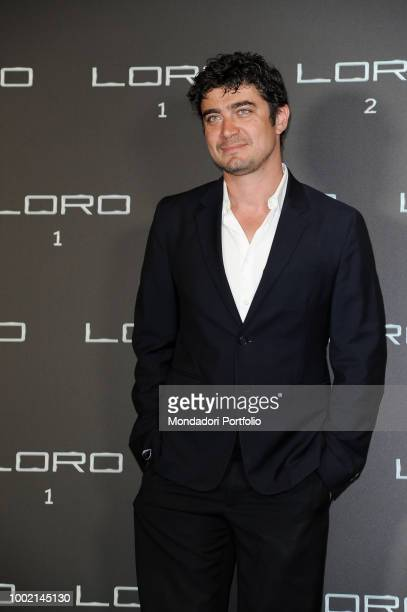 Italian actor Riccardo Scamarcio at Loro 2 photocall at The Space Moderno Cinema. Rome, May 2nd 2018