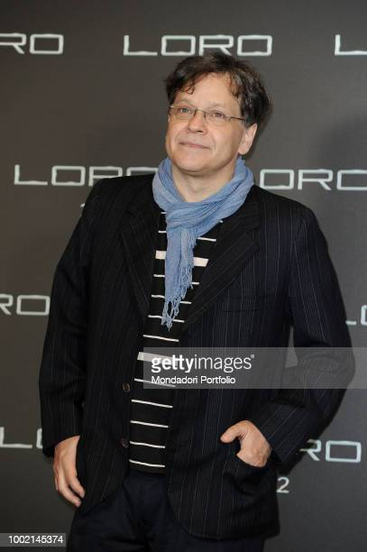 Italian actor Roberto De Francesco at Loro 2 photocall at The Space Moderno Cinema. Rome, May 2nd 2018