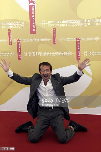 Italian actor Rocco Papaleo attends the photocall to promote the film 'Non Prendere Impegni Stasera' during the sixth day of the 63rd Venice Film...
