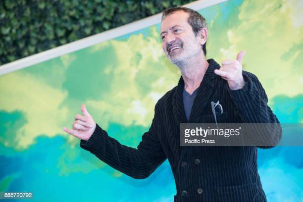 Italian actor Rocco Papaleo during the Photocall of the Italian movie 'Il Premio' directed by Alessandro Gassmann at the Hotel Bernini Bristol in Rome