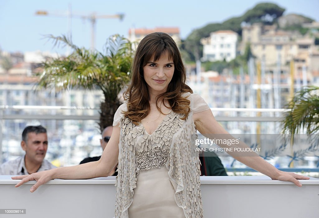 Italian actor Stefania Montorsi poses during the photocall of 'La Nostra Vita' (Our Life) presented in competition at the 63rd Cannes Film Festival on May 20, 2010 in Cannes.