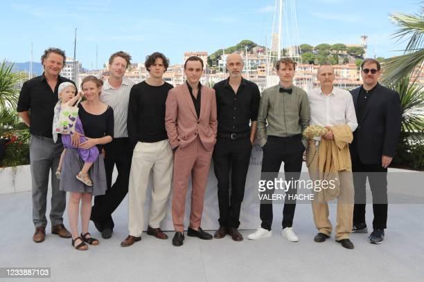 Italian actor Thomas Prenn, German actor and dancer Franz Rogowski, Austrian director Sebastian Meise, German actor Anton Von Lucke and Austrian...