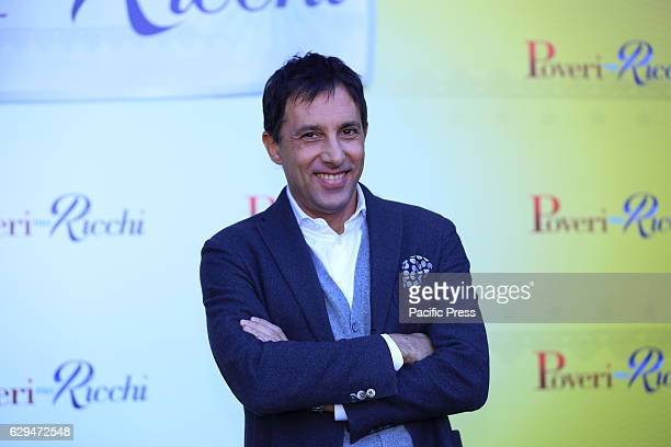 "Italian actor Ubaldo Pantani during photocall of italian film ""Poveri ma Ricchi"", directed by Fausto Brizzi."