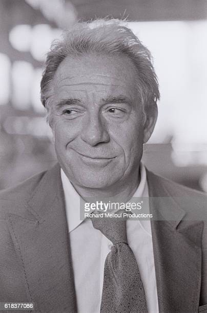 Italian Actor Ugo Tognazzi attends the 1978 Montreal World Film Festival in Montreal Quebec